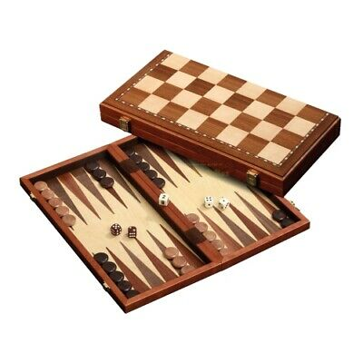 Chess-Backgammon-Draughts-Set - Magnetic - Field 43 MM • 75.23£