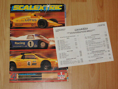 Scalextric 29th Edition Catalogue • 7.50£