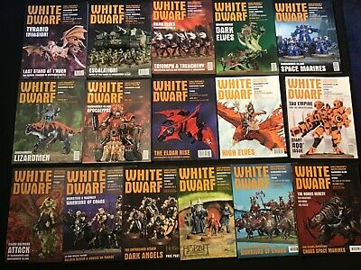 White Dwarf Magazine 16 Issue Bundle October 2012 To January 2014 Inclusive. • 15.99£
