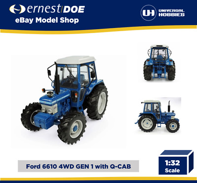 UNIVERSAL HOBBIES. Ford 6610 Gen.1-4WD.  Blue. 1:32. UH5369 • 39.95£