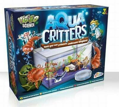 Aqua Critters Sea Monkey Brine Shrimp Like Triops Make Your Own Prehistoric Dino • 7.94£