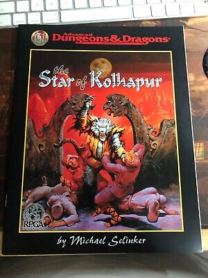 AD&D 2nd Edition -  THE STAR OF KOLHAPUR   (RARE RPGA ONLY MODULE) • 15.99£
