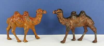 2 Charbens Lead Bactrian Camels Pre War & Post War Types  • 24£