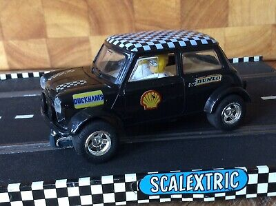 Rare Scalextric C206. Black Mini Cooper Only Available From Toys-r-us. Excellent • 10£
