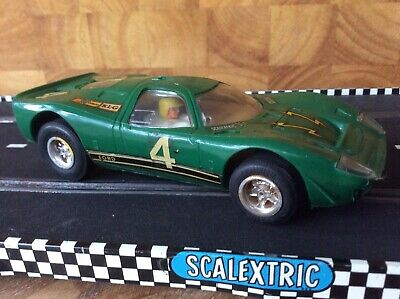 Vintage Scalextric C15. Mirage Ford. Good Condition. Runner But Needs A Service. • 7£