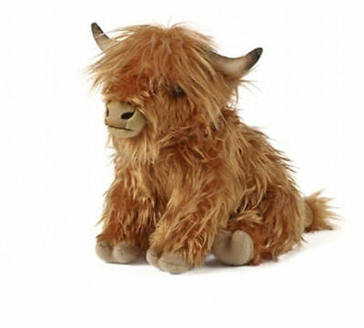 Living Nature Highland Cow Soft Toy With Sound 30cm   • 16.95£