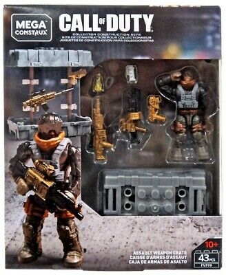 Mega Construx Call Of Duty Gold Assault Weapon Crate • 23.99£