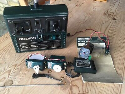 Acoms Ap-227 Radio Control System See Full Description Working Condition • 15.10£