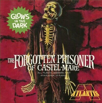 The Forgotten Prisoner Of Castel Mare Glow Square Box 1/8 Model Kit PRE-SALE • 44.99£