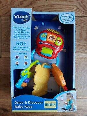 Vtech Baby Electronic Keyring With Interactive Keys Musical Toy New • 4.99£
