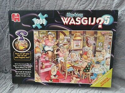 New Wasgij Mystery Puzzle No.5 Sunday Lunch 1000pc Puzzle  Complete New  • 6.95£