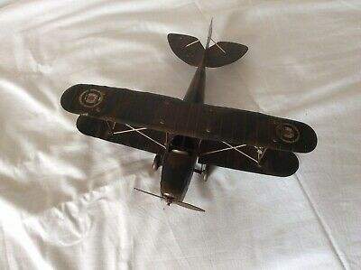 1930s Tinplate Aeroplane Toy • 19.99£