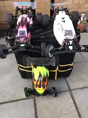 PR Racing S1 V3 (2x) + V2 With 2 Controllers, Spares + Much More! Be Quick! • 350£