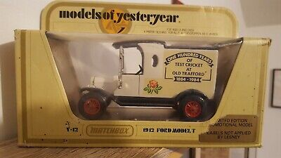 MATCHBOX MODELS OF YESTERYEAR Y12 Ford T Code 3 ONE HUNDRED YEARS  • 7.32£