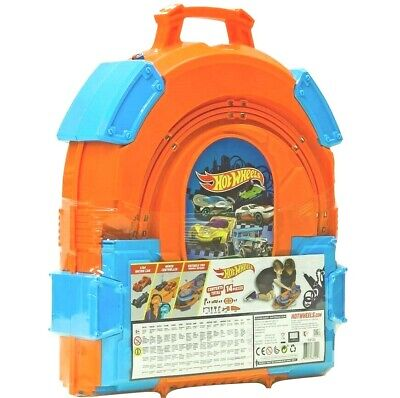 NEW Hot Wheels 1:64 Track Carrying Case Slot Track SetCarry Case • 40£
