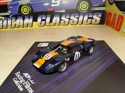 99038 - Ford GT40 24h Daytona 67 + DVD + Booklet - Scalextric Compatible - New. • 104.95£