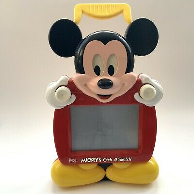 Disney Mickey Mouse Etch-a-Sketch (Ohio Art) - Eye Moves When You Sketch • 15£