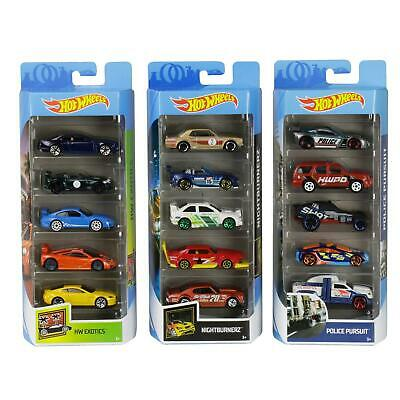 Hot Wheels Pack Of 5 Diecast And Mini Toy Cars (Assorted Models) • 15.49£