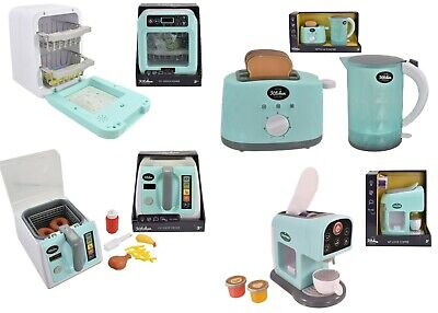 Kids Kitchen Accessories Machine Role Pretend Play Toys Home Appliances Xms Gift • 12.45£