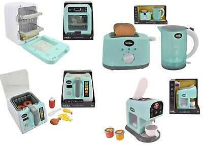 Kids Kitchen Accessories Machine Role Pretend Play Toys Home Appliances Xms Gift • 15.95£