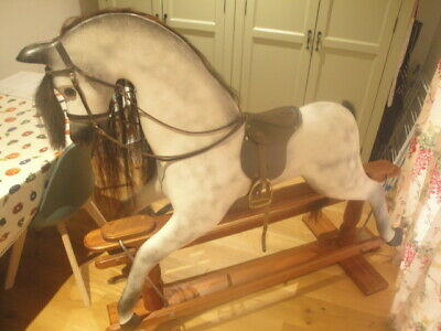 Large Wooden Rocking Horse By 'horseplay' • 400£