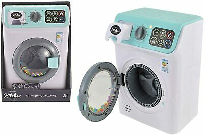 MY FIRST WASHING Machine With Light And Sound Toy Childrens Pretend Play Game • 16.60£