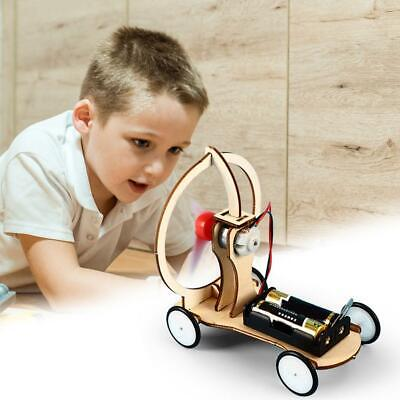 DIY Electric Wind Car Toy Kit Children Student Physical Science Experiment Model • 4.82£