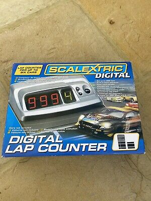 Scalextric Digital Lap Counter. Boxed • 0.99£