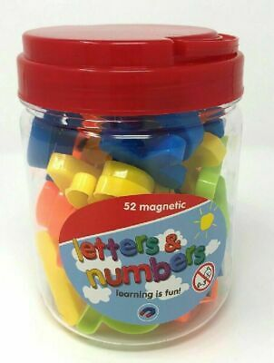Magnetic Letters And Numbers Learning Toy Fridge Magnets Kids Children Learning • 5.85£