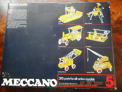 Collectors Take Note: 1970's Meccano Set 5 Near Mint Condition  • 500£