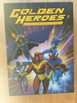 Golden Heroes: The Role-playing Game Of Super-Heroes • 20£