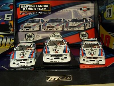 Martini Lancia Beta Racing Team 'Le Mans 81' - *Scalextric Compatible* - New. • 229.99£