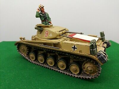 King And Country Ww2 German Panzer 2 Tank • 229.99£