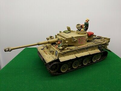 King And Country Ww2 German Desert Tiger Tank • 389.99£