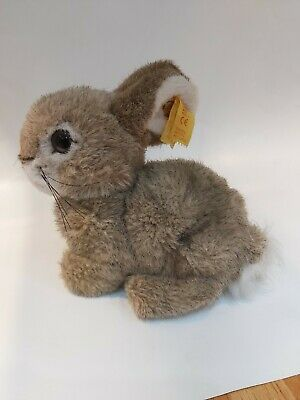 Steiff Baby Bunny Rabbit With Label And Button In The Ear • 35£
