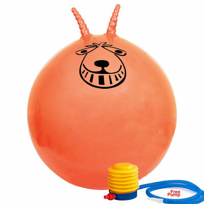 Large Exercise Retro Space Hopper Play Ball Toy Adult Kids Game 60cm/80cm New • 9.99£