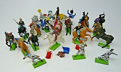 Britains Toy Soldiers - Mixed Lot Of Mainly Deetail Mounted Figures  (C1) • 5£