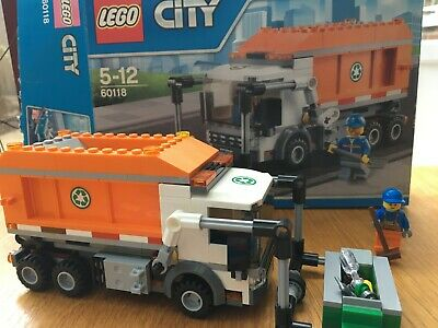 LEGO City Garbage Truck (60118) Complete, Bagged, With Box And Instructions • 9£