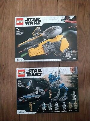 Lego Star Wars 75281 Anakin's Interceptor BNIB +  501st Troopers Without Figures • 25£