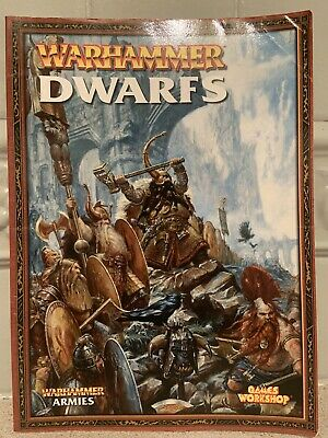 Games Workshop, Warhammer, Dwarfs: Army Book, 6th Edition (2005), OOP • 6.95£