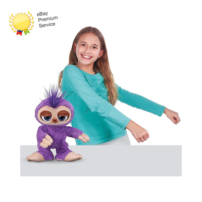 ZURU PETS ALIVE 9516 Fifi The Flossing Sloth, Purple • 23.90£