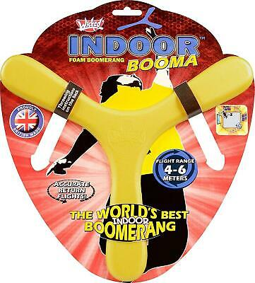 Indoor Boomerang.  The Booma From Wicked.  Yellow.  Brand New With Packaging. • 4.90£