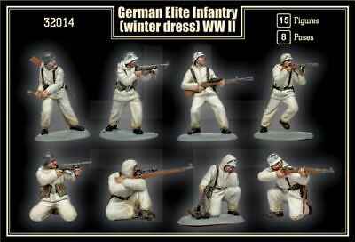 Mars Models 1/32 Wwii German Elite Infantry Winter Dress (15) 32014 • 20.56£