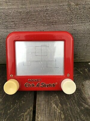 Sababa Toys Pocket Etch A Sketch Machine. Home Drawing Doodling. 2005 • 15£