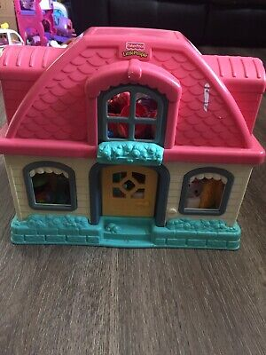 Fisher Price Little People House With Sounds • 13£