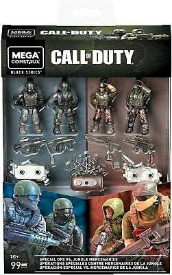 Mega Construx Call Of Duty Special Ops Vs Jungle Mercenaries Set • 36.99£