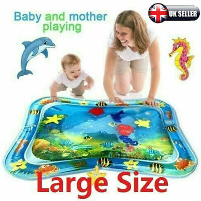 Inflatable Water Play Mat Infants Baby Toddlers Kid Perfect Fun Tummy Time Play • 8.59£
