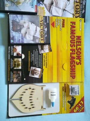 Lord Nelson's HMS Victory Model DeAgostini Kit Complete As In Pics • 455£