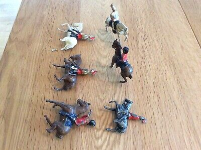 Lead Soldiers / Cavalry / Horses Job Lot • 6.50£