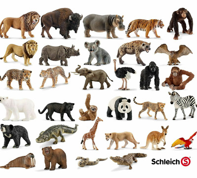 Schleich Animals Wild Life Sea Zoo AND MANY MORE FIGURES NEW THIS YEAR • 5.49£